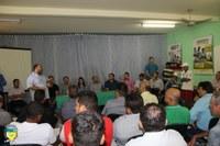 Vereadores de Cacoal na posse do novo secretário da SEMAGRI