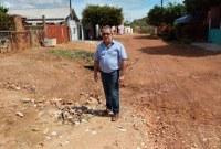 Vereador Corazinho solicita canalização urgente na rua Mato Grosso